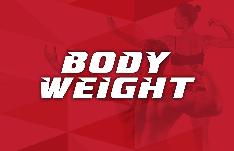 תוכנית אימון משקל גוף