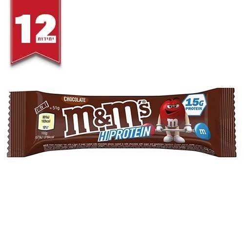 חטיפי חלבון M&M